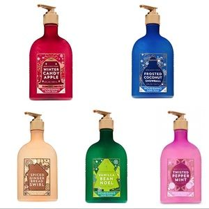 Bath & Body Works Nourishing Hand Soap Winter Set